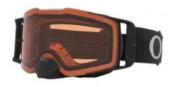 Gogle Oakley OO 7087 FRONT LINE MX 708761  TUFF BLOCKS BLACK GUNMETAL prizm bronze