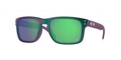 Oakley OO 9102 HOLBROOK  9102T4  TLD MATTE PURPLE GREEN SHIFT prizm jade