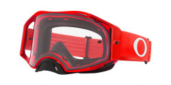 Gogle Oakley OO 7046 AIRBRAKE MX 7046A9  MOTO RED clear