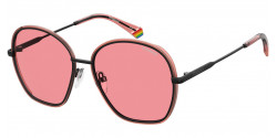 Polaroid PLD 6113/S  35J/0F BLACK/PINK pink polar