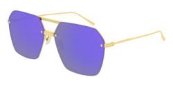Bottega Veneta BV 1045 S  003 GOLD double mirror violet