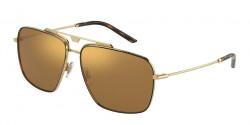 Dolce&Gabbana DG 2264  - 02/73  GOLD/BROWN brown mirror gold