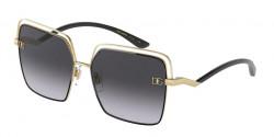 Dolce&Gabbana DG 2268  13348G  GOLD/BLACK grey gradient