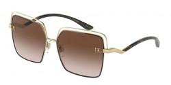 Dolce&Gabbana DG 2268  134413  GOLD/BROWN gradient brown
