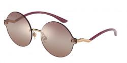 Dolce&Gabbana DG 2269  1298AQ  PINK GOLD gradient pink/orange mirror