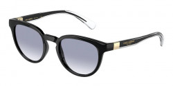 Dolce&Gabbana DG 6148 - 501/79  BLACK clear gradient blue