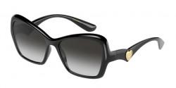 Dolce&Gabbana DG 6153 - 501/8G  BLACK grey gradient