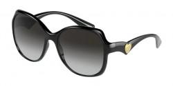 Dolce&Gabbana DG 6154 - 501/8G  BLACK grey gradient