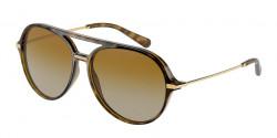 Dolce&Gabbana DG 6159 - 502/T5  HAVANA polar brown gradient