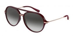 Dolce&Gabbana DG 6159 - 32858G  TRANSPARENT BORDEAUX grey gradient
