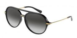 Dolce&Gabbana DG 6159 - 501/8G  BLACK  grey gradient