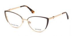 Guess GU 2813 - 049 GOLD/MATTE DARK BROWN