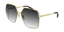 Gucci GG 0817 S - 001 GOLD grey gradient