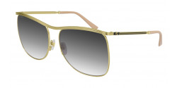Gucci GG 0820 S - 001 GOLD grey gradient