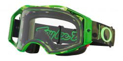 Gogle Oakley OO 7107 AIRBRAKE MTB 710711  TLD DAZZLE GREEN prizm low light