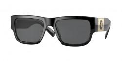 Versace VE 4406 - GB1/87  BLACK  dark grey