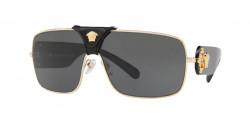 Versace VE 2207 Q - 100287  GOLD dark grey
