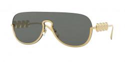 Versace VE 2215 - 100287  GOLD dark grey
