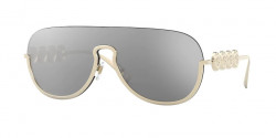Versace VE 2215 - 12526G  PALE GOLD light grey mirror silver