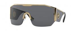 Versace VE 2220 - 100287  GOLD dark grey