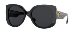 Versace VE 4387 - GB1/87  BLACK dark grey