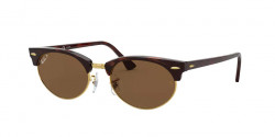 Ray-Ban RB 3946 CLUBMASTER OVAL - 130457  MOCK TORTOISE b-15 brown