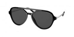 Prada PR 13 WS - 1AB5S0  BLACK dark grey