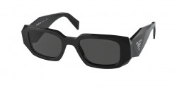 Prada PR 17 WS - 1AB5S0  BLACK dark grey