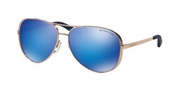 Michael Kors MK 5004 CHELSEA 100325 ROSE GOLD blue mirror