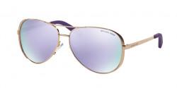 Michael Kors MK 5004 CHELSEA 10034V ROSE GOLD purple mirror