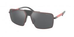 Prada Sport PS 52 XS - TWW09L  MATTE GREY grey mirror black