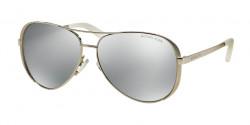 Michael Kors MK 5004 CHELSEA 1001Z3  SILVER-TONE  silver mirror polarized