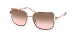 Michael Kors MK 1087 CANCUN - 110811  SHINY ROSE GOLD  brown peach gradient