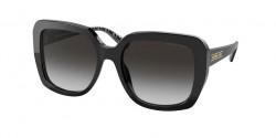 Michael Kors MK 2140 MANHASSET - 30058G  BLACK grey gradient