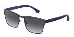 Emporio Armani EA 2087 - 30038G  MATTE BLUE  gradient gray