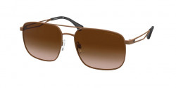 Emporio Armani EA 2106 - 302013  MATTE BROWN  gradient brown