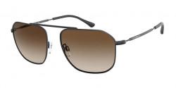 Emporio Armani EA 2107 - 300113  MATTE BLACK gradient brown