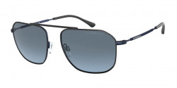 Emporio Armani EA 2107 - 3018V1  MATTE BLUE  light blue gradient grey