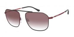 Emporio Armani EA 2107 - 30438H  MATTE RED gradient violet