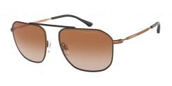 Emporio Armani EA 2107 - 304913  MATTE BROWN gradient brown