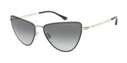 Emporio Armani EA 2108 - 302111  PALE GOLD gradient grey