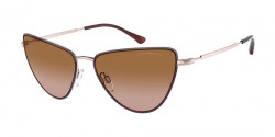 Emporio Armani EA 2108 - 316713  ROSE GOLD gradient brown