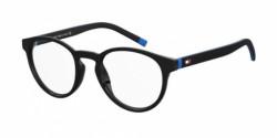Tommy Hilfiger TH 1787 - 0VK MATTE BLACK/BLUE