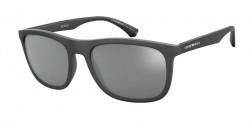 Emporio Armani EA 4158 - 58696G  MATTE BLACK grey mirror black