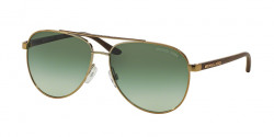 Michael Kors MK 5007 HVAR 10432L GOLD WOOD green gradient