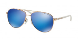 Michael Kors MK 5007 HVAR 104525  ROSE GOLD WHITE, blue mirror