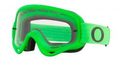 Gogle Oakley OO 7029 O-FRAME MX -  702964  MOTO GREEN clear