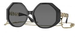 Versace VE 4395 - 534587  BLACK  dark grey