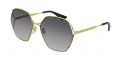 Gucci GG 0818 SA - 001 GOLD grey gradient