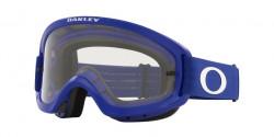 Oakley OO 7116 O FRAME 2.0 PRO XS MX  - 711613  MOTO BLUE clear